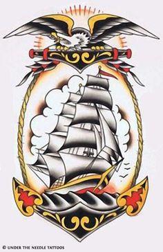 Resultado de imagen para fate loves the fearless tradicional tattoo