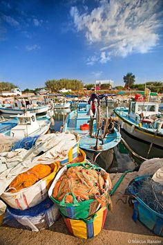 Cyprus Paralimni. Agia Triada fishing shelter