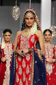 Zainab Sajid at Bridal Couture Week 2011 Day 2