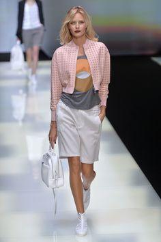 Emporio Armani, P-E 16 - L'officiel de la mode