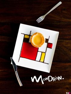 Mondrian (A Table For Two) {Neo-Plasticism art form by Piet Mondrian} {French Puff Pastry & Vols-au-Vent}