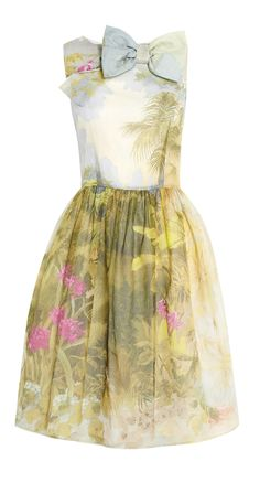Silk garden dress. I actually think the watercolor floral silks are really cute