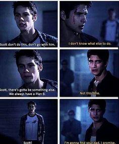 "#TeenWolf 3x10 ""The Overlooked"" - Stiles & Scott"