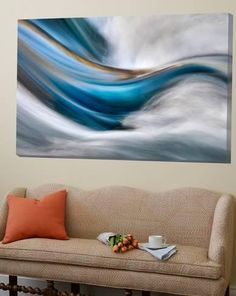 Loft Art: So Gentle, So Furious by Ursula Abresch : 48x72in