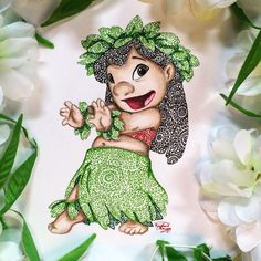 "Aloha Kakahiaka ~ *Good Morning!* ......................................................................Fun Lilo and Stitch fact: Did you know that in Hawaiian, Lilo means ""lost?"" And that the technical definition of Stitch, means ""pulled together?"" So many beautiful little gems hidden in this movie   A hui hou kakou ~ *Until we meet again*"