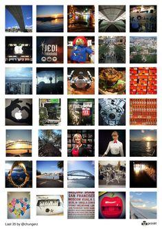 Last 35 - Instagram Poster from chungerz | Prinkl