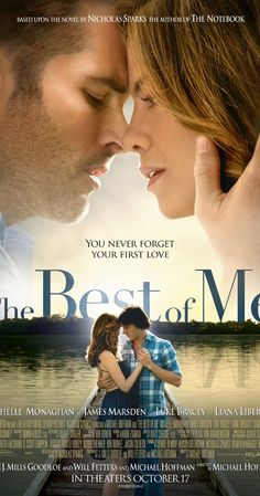 The Best of Me (October 2014)  ((By Nicholas Sparks, so it'll probably be a tear-jerker.  Apparently Paul Walker was originally cast, but after his passing James Marsden was cast.  S.))
