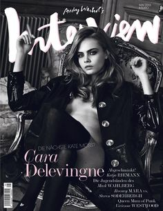 new Kate Moss Interview Germany Cara Delevingne