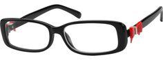Women's Red 2710 Plastic Full-Rim Frame | Zenni Optical Glasses-Sh7AhetE