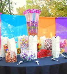 Details Party Rental - Candy Buffet Ideas Candy Bar Wedding Favor Texas