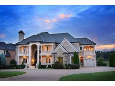 Now this is what quality curb appeal looks like more for Atlanta dream homes