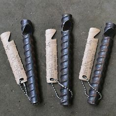 ReBar Bottle Opener by 20Leagues on Etsy