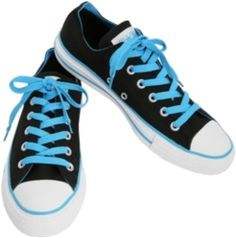 Fashion and Style: Hot Topic Converse. Converse Trainers, Blue Converse, Converse All Star, Converse Shoes, Shoes Sneakers, Everything Is Blue, Scene Outfits, Chuck Taylor Sneakers, Casual Shoes