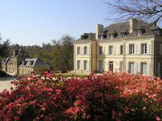 Château de Locguénolé. Hôtel et restaurant en bord de mer. Kervignac (Morbihan). #relaischateaux #locguenole #locguénolé #morhiban #chateau