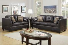 Poundex Poundex 2-Pcs Sofa Set F6915