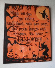Halloween Sign.