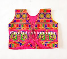 garba costume wear navratri embroidery work Waist coat / shrug, dandiya costume wear navratri embroidery work Waist coat / shrug, beautiful navratri wear embroidery work Waist coat / shrug, Jacket Style, Jacket Dress, Indian Jackets, Sleeveless Coat, Navratri Special, Indian Festivals, Thread Work, Indian Dresses, Festival Fashion