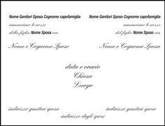 Cosa e come scrivere le partecipazioni di matrimonio? La guida definitiva su: http://www.tipografiavittoria.com/approfondimenti-stampa/cosa-come-scrivere-partecipazioni-matrimonio-nozze/