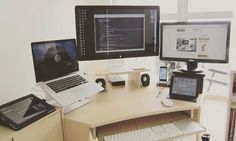 Nice workspace!  #html #css #freelance #freelancing #c #cpp #csharp #objective_c #scala  #code #functional #programming #language #data #php #sql #injection #setup #hacker #angularjs #python #binary #computer_science #java #coding #project #wordpress #software_engineering #javascript #scala