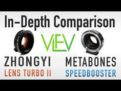 Lens Turbo II vs Metabones Speed Booster In-Depth Comparison - YouTube.   Recent review of lens turbo, which makes NEX full frame