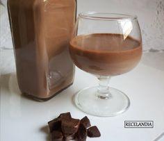 RECELANDIA: Licor de chocolate