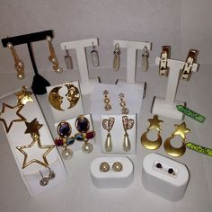 🌀Vintage Givenchy & Gathering Storm🌀See one? Amethyst, 14 carat, Pearl, abalone, signed vintage Givenchy, posts, clip ons, fun costume bling. Haven't had time to properly post my jewelry collection individually. This is a start. See something, please say so & I'll give more info & pix. Some as low as $5. One is Vintage Givenchy estate piece👸 Givenchy Jewelry