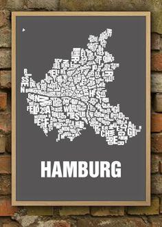Poster Hamburg Nebelhorn