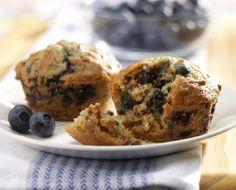 Blueberry Bran Muffins Recipe | Muffins Recipes | Kitchen Goddess