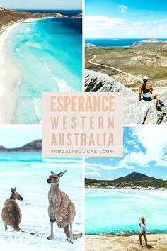The best things to do in Esperance Western Australia: the hikes campgrounds and beaches in Esperance that you must put on your to-do list! Brisbane, Perth, Visit Melbourne, Australia Visa, Visit Australia, Western Australia, Australia Holidays, Australia Trip, Australia Destinations