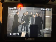 "Josh, Robert, Sean, Henry, Lana and Emilie - Behind the scenes - 6 * 11 ""Murder Most Foul"" - 3rd November 2016"