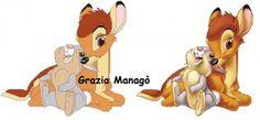 Bambi e Tamburino - Le crocette di Grazia