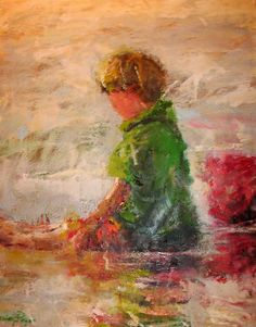 Touching The Tide by Susie Pryor by Kathy McCullen, via Flickr