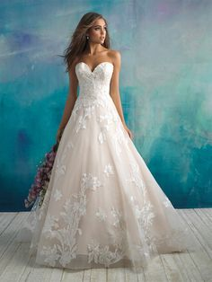 Trendy Ball Gown Wedding Dress on Kleinfeld Bridal Bridal Wedding Dresses, Wedding Dress Styles, Designer Wedding Dresses, Bridal Style, Bridesmaid Dresses, Floral Wedding, Disney Inspired Wedding Dresses, Trendy Wedding, Wedding Bride