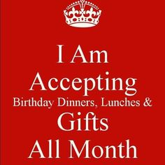 Feel free to hit me up all month with gifts drinks money dinners ect its cancer season Birthday Month Flowers, Its My Birthday Month, Birthday For Him, Belated Birthday, 14th Birthday, Happy Birthday Me, Birthday Fun, Birthday Weekend, Birthday Stuff