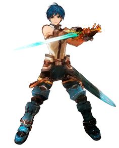 View an image titled 'Fayt Leingod Art' in our Star Ocean: Anamnesis art gallery featuring official character designs, concept art, and promo pictures. Character Design References, Game Character, Character Concept, Concept Art, Fantasy Character Design, Character Design Inspiration, Dnd Characters, Fantasy Characters, Star Ocean