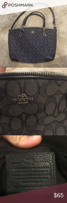 Authentic Coach Purse Cross body strap modified because I wanted it to be just a shoulder bag. Other wise in excellent condition. Coach Bags Shoulder Bags