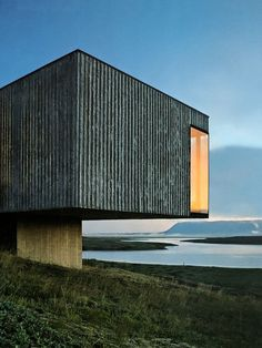 Casa e paisagem-PK Arkitektrar-photo Pálmar Kristmundsson (via Casas   Arkpad)