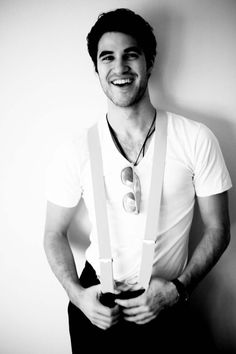 Darren Criss - THIS. MAN. IS. *sigh*.....if he sang to me...or just sang in general AROUND me, I'd probably melt, lol.