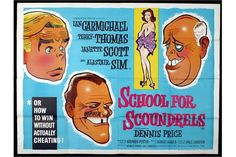 """Funny British comedy is a spoof of the """"do it yourself"""" craze in the early 60's. Alistair Sim runs a school that teaches men success in business, social engagements, and sex. Terry-Thomas steals the show in one of his best on screen roles as an arrogant man about town who is flummoxed by the success of a colleague. Nicely done all round. Terry Thomas, Man About Town, British Comedy, Engagements, Good Movies, I Movie, Sims, Stuff To Do, Family Guy"""