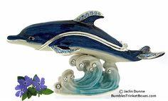 Trinket Box: Dolphin