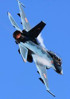 "eyestothe-skies: ""Mitsubishi F-2B, Japan Air Self-Defense Force """