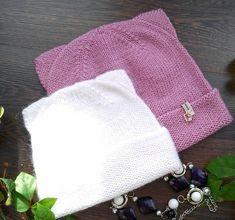 Котошапки - шапочки с ушками связанные спицами - Modnoe Vyazanie ru.com All Free Crochet, Knit Crochet, Cat Hat, Hats Online, Kids And Parenting, Baby Knitting, Knitted Hats, Knitting Patterns, Coin Purse
