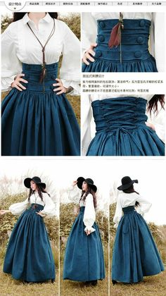 New style outfits boho chic maxi dresses ideas Modesty Fashion, Lolita Fashion, Fashion Dresses, Maxi Dresses, Fashion Clothes, Gothic Fashion, Style Clothes, Corset Dresses, Victorian Fashion