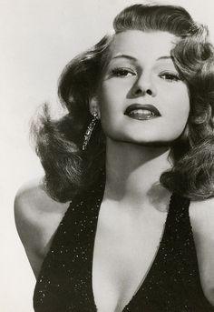 Rita Hayworth in promotional shot for Affair In Trinidad, 1951