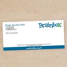 Promoworx Design Studio - Brainbox compliment slip