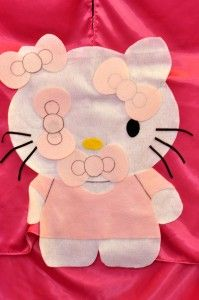 Hello Kitty Themed Party Pin the Bow, cute!
