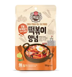 Oils/ Condiments/ Sauces Korean Traditional Sweet And Spicy Rice Cake Tteokbokki (Topokki) Sauce & Garden Cool Packaging, Food Packaging Design, Packaging Design Inspiration, Brand Packaging, Branding Ideas, Product Packaging, Branding Design, Tteokbokki, Benefits Of Organic Food
