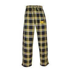 Michigan Wolverines Millenium Plaid Lounge Pants - Men $21 at Kohls For Eric