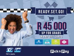 Attention all shoppers, stand a chance to win BIG with Greyhound and Pick n Pay! Book your Greyhound ticket at a participating Pick n Pay store and stand a chance to win your share of R45 000 in shopping vouchers! How to enter: - Book your Greyhound bus ticket at a participating Pick n Pay store - SMS your name, surname and ticket reference along with the keyword 'PICK' to 45211 Book today! T & C's Apply…