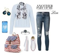 """""""Another Part of Me"""" by coolmommy44 ❤ liked on Polyvore featuring Hallhuber, Frame Denim, Candie's, Ippolita and CO"""